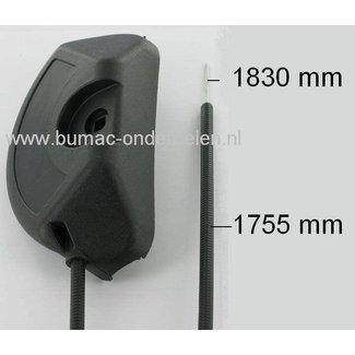 Gaskabel voor Stiga Combi 53 SB en Collector 48 SB en 53 SB Grasmaaier, Grasmachine