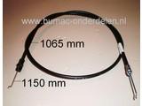 JohnDeere Versnellingskabel voor het regelen van de Loopsnelheid bij JohnDeere 14SB, JA65, JE75, JX75 en JX85 Grasmaaier - Loopmaaier - Grasmachine, John Deere Koppelingskabel