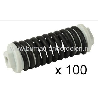 Veer Trillingsdemper STIHL Kettingzaag MS441, Anti Vibratie Veren - Trillingsdemper - Ophangrubber - Vibratiedemper, Kettingzaag - Motorzaag