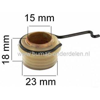 Wormwiel voor Aandrijving Oliepomp bij Stihl 029 - 034 - 036 - 039 - MS290 - MS360 - MS390 Motorzaag, Kettingzaag.