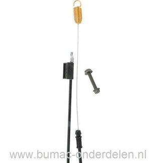 Koppelingskabel voor Grasmaaier van Husqvarna 530RS, Partner P531, Bestgreen, BM5B53BG, BM55BT053A, Bricorama, Rally RE621CE, en Sworn SN55ZCPB Grasmaaier Grasmachine Kabel voor Aandrijving van de Wielen