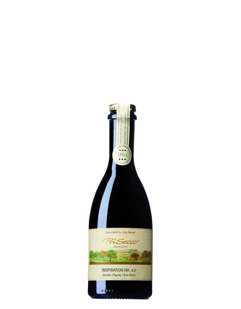 Prisecco Alcoholvrij Inspiration 4.0 / 0.375L stil rood