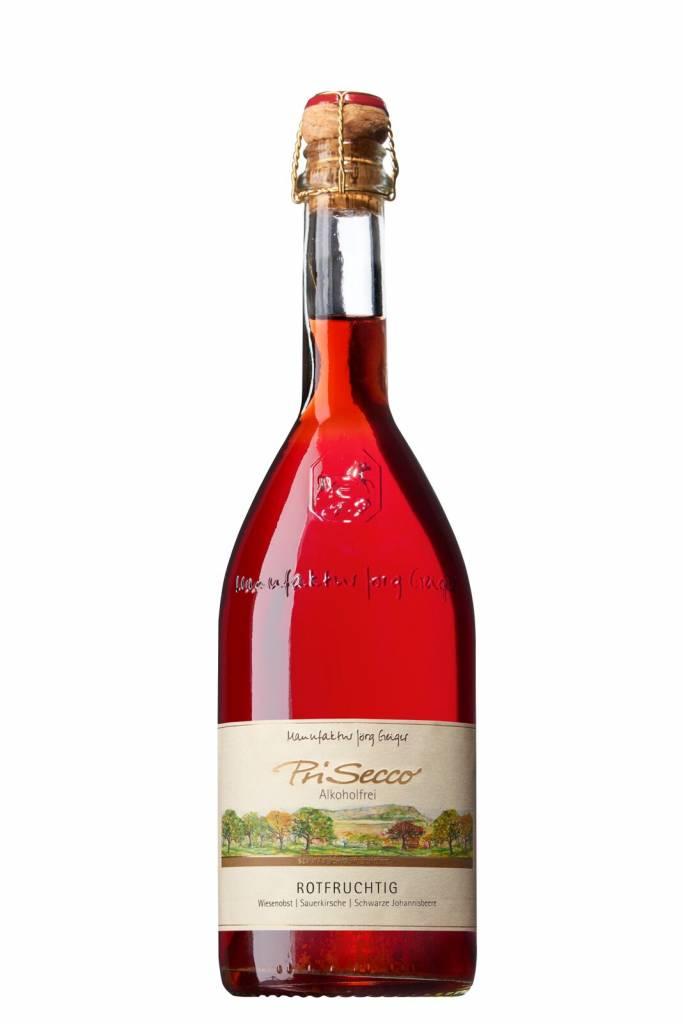Prisecco Alcoholvrij Rotfruchtig 0.75L mousserend
