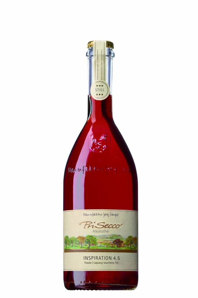 Prisecco Alcoholvrij Inspiration 4.5 / 0.75L stil rood