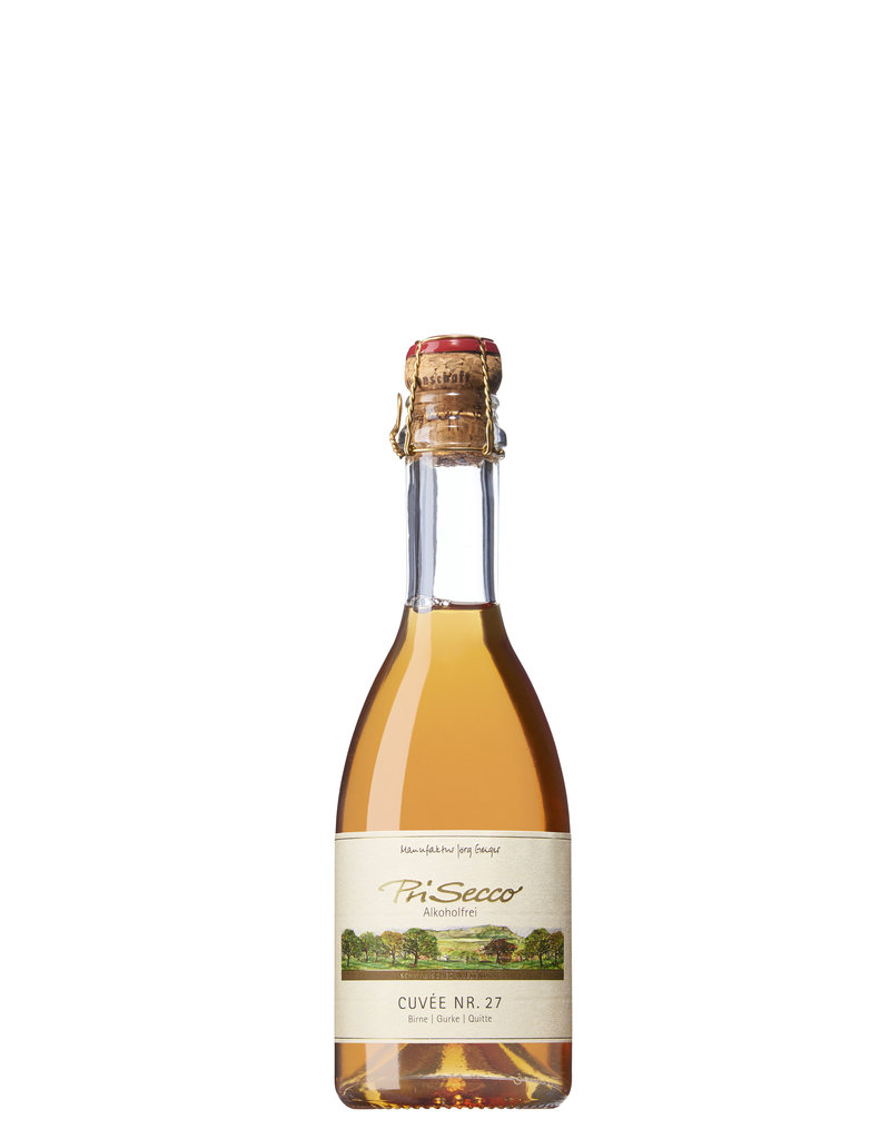 Prisecco Alcoholvrij Cuvee No. 27 / 0.375L mousserend