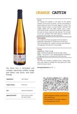 CATTIN ORANGE Pinot Gris