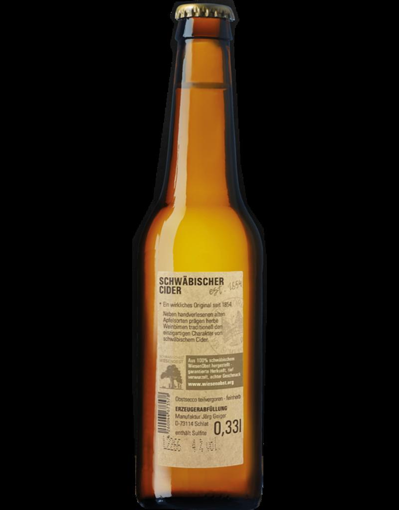 Joerg Geiger - Wiesenobst Cider 3.5% - 0.33L