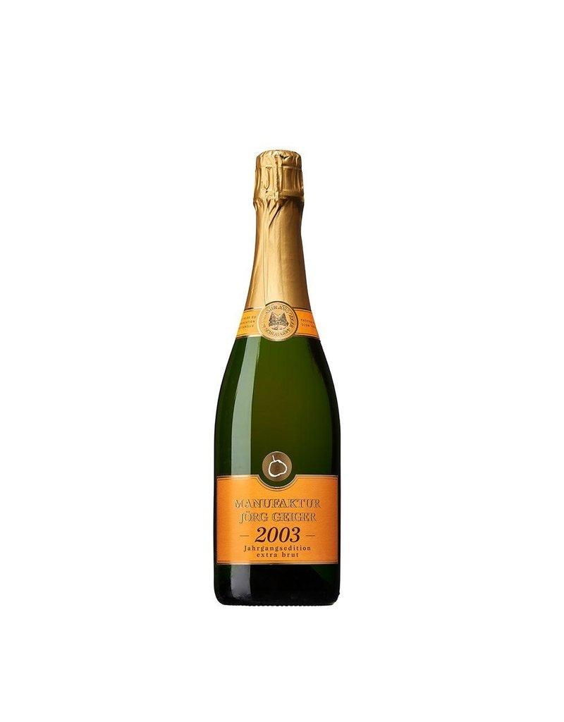 Champagner Bratbirne Extra Brut 2003 - Joerg Geiger