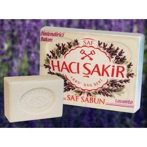 Haci Sakir Lavendelzeep 4x150gr