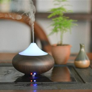 Allesvoordesauna GX-aroma diffuser Vesuvius  Donker hout
