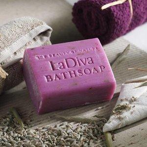 LaDiva Lavendel badzeep 155gr. luxe verpakking