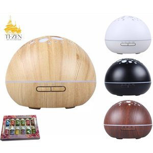 Ti-Zen GX-aroma diffuser Starry night (grote capaciteit) + 12 geurenset