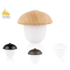 Ti-Zen LED tafel/nacht lamp Mushroom. dimbaar, werkt op accu