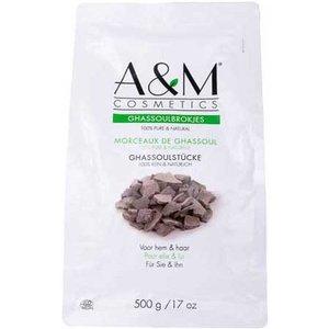 A&M Cosmetics ghassoulbrokjes zak 500 gram