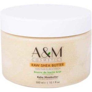 A&M Cosmetics Raw Shea Butter pot 300 ml