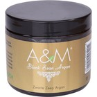 A&M Cosmetics Zwarte zeep met arganolie, black soap argan 200ml