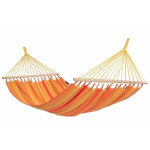 Tropilex Hangmat Hammock 'Relax' Orange / oranje. 1 persoons traditioneel model