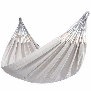 Tropilex Hangmat Hammock 'Comfort' Pearl / wit-ecru. 2 persoons