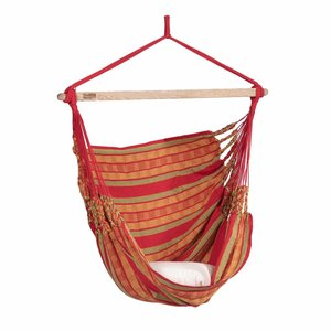 Tropilex Hammock Chair 'Chill' Happy Red