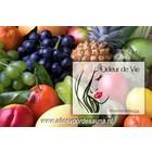 Wellnesskadoos Cadeaupakket Sauna opgiet geur: 5x Fruit 30 ml