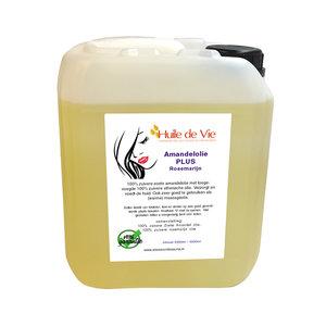 Huile de Vie Amandelolie PLUS Rosemarijn massage 5 liter