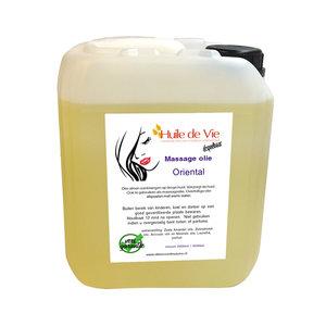 Huile de Vie Massage olie Oriëntal jerrycan. afspoelbaar