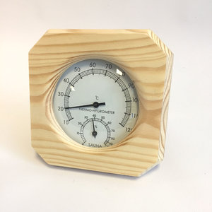 AVDS sauna thermometer / hygrometer blank hout