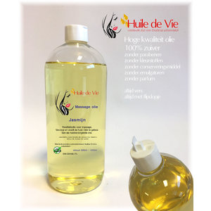 Huile de Vie Massage olie jasmijn.