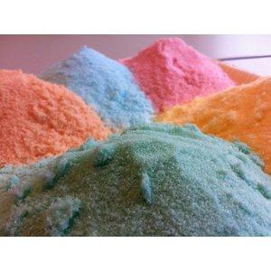 Wellnesskadoos Scrubzout pakket 5 x 700 gram verschillende geuren