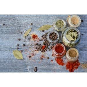 Wellnesskadoos Cadeaupakket Sauna opgiet geur: 5x Kruiden 30 ml