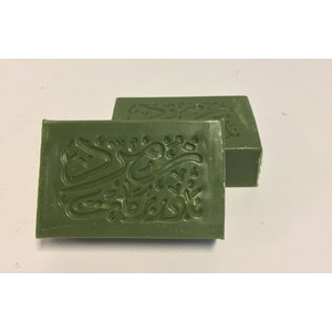 Nader Barakat Luxe natuurlijke olijfzeep Burdu met Royal Oriental  perfumes - 100gram