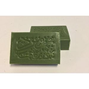 Nader Barakat Luxe natuurlijke olijfzeep 'Akhdir met Royal Oriental  perfumes - 100gram