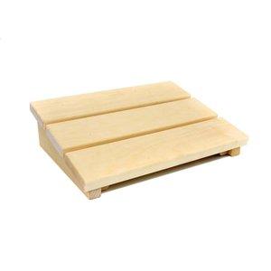 Allesvoordesauna sauna hoofdsteun hout