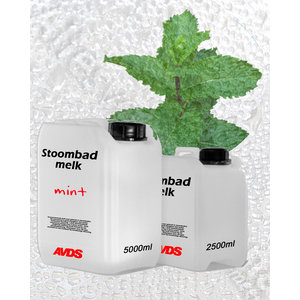 AVDS Mint stoombad milk 5 Liter