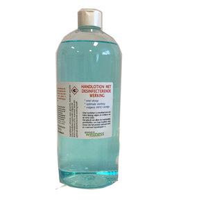 Gewoon Wellness handlotion desinfectie fles 1 liter