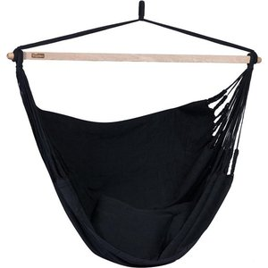 Tropilex Hangstoel Tweepersoons 'Luxe' Black - Zwart