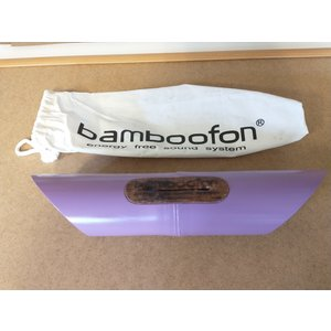 OUTLET!! Bamboofon energy free sound system Pink