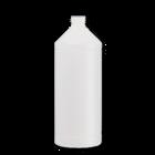 Verpakking/fles/pot Lege fles 1000ml HPDE WIT 28-410