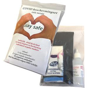 Gewoon Wellness COVID beschermingsset Travel / reis editie