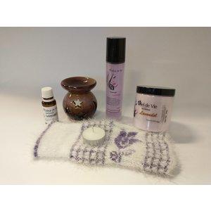 Wellnesskadoos Cadeaupakket Wellness Lavendel