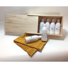 Wellnesskadoos Cadeaupakket Saunageur opgiet: BOX 6x Sauna 250 ml