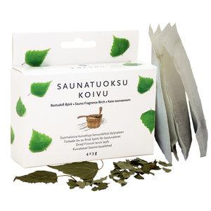 "Emendo Sauna geur Berk ""Koivu"" 4 x zakjes á 3 gram"