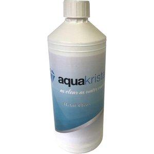 Aqua Kristal metal clear