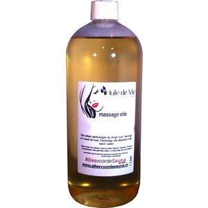 Huile de Vie Massage olie afspoelbaar Honey Flower