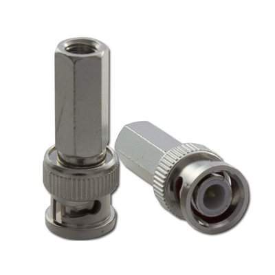 Viscoo BNC male twist-on connector