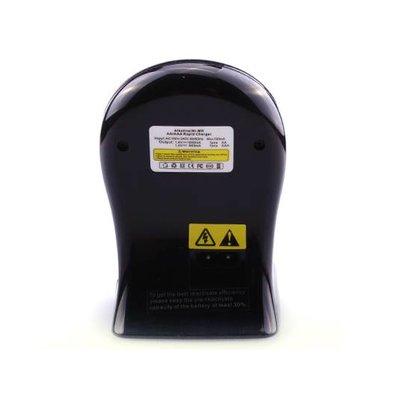 Batterijlader zwart