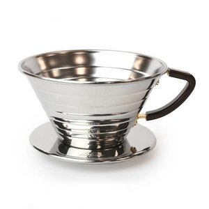 Kalita Wave Dripper 185 Polished Stainless Steel