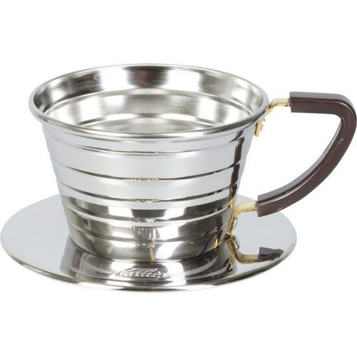 Kalita Wave Dripper 155 Polished Stainless Steel