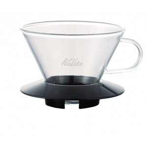 Kalita Kalita Wave Glass Dripper 185 Black