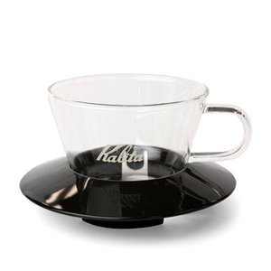 Kalita Glass Wave Dripper 155 (Black)
